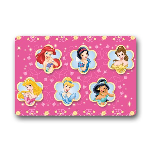 disney-princess-ariel-cinderella-aurora-jasmine-belle-custom-outdoor-indoor-doormat-personalized-des