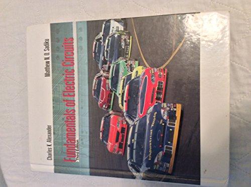Fundamentals of Electric Circuits par Charles K. Alexander