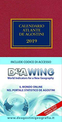 Zoom IMG-1 calendario atlante de agostini 2019
