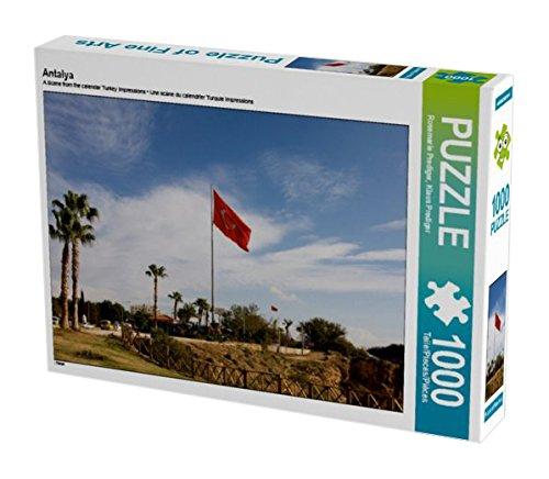 Preisvergleich Produktbild Antalya 1000 Teile Puzzle quer: Türkei (CALVENDO Orte)