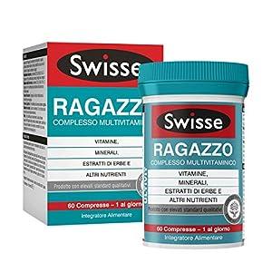 Swisse Multivitaminico Ragazzo, Integratore Alimentare Multi-nutriente per Integrare la Nutrizione dei Ragazzi, 60… 2 spesavip