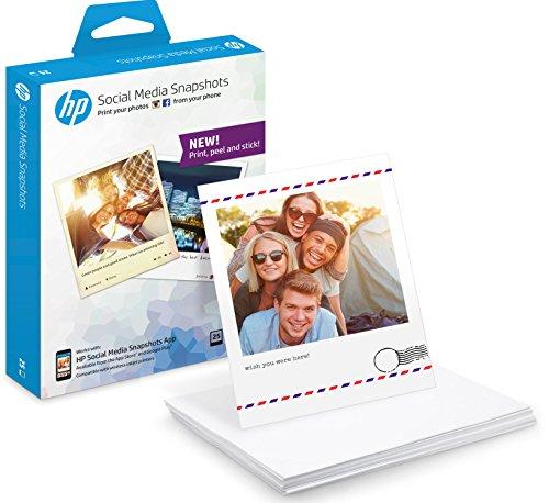 shots Fotopapier (25 Blatt, 10 x 13 cm, selbstklebende Rückseite) (Papier-trading-app)