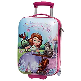 Disney Princesa Sofia Set de Maletas, 33 Lt, Color Rosa