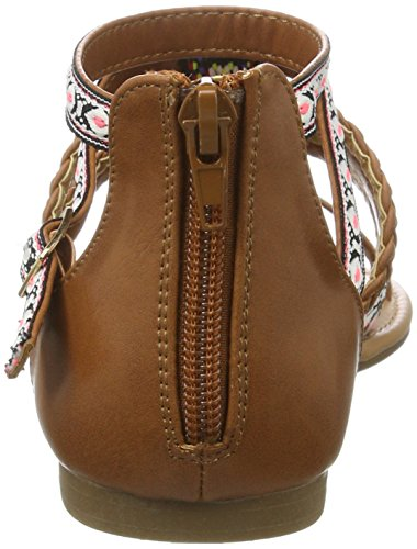 Buffalo David Bitton 315721 Gm S10213 Leather Pu, Spartiates Femme Marron (Tan 01)