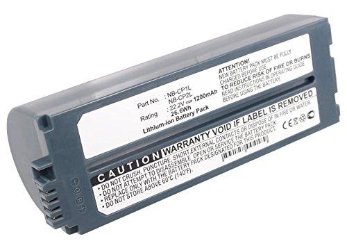 subtel® Akku kompatibel mit Canon Selphy CP1200 CP1000 CP1300 CP910 CP900 CP800 CP810 CP820 CP500 CP510 CP780 CP710 CP720 CP730 CP740 CP750 CP770 CP400, 2000mAh NB-CP2LH NB-CP2L Ersatzakku Batterie