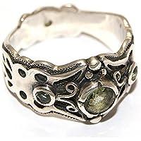 Moldavit Ring Schmuck - Sterlingsilber - Schmetterling Design moldr16a01 preisvergleich bei billige-tabletten.eu