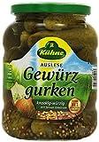 Produkt-Bild: Kühne Gewürzgurken knackig-würzig im Glas, 360g