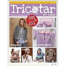 ÁLBUM COLECCIÓN TRICOTAR EN CASA Nº 4 - Revista de tricot y punto