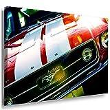 Ford Mustang Fastback 1967 Leinwandbild LaraArt Bilder Mehrfarbig Wandbild 100 x 70 cm