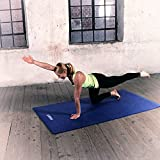 Powrx Gymnastikmatte Trainingsmatte Pilatesmatte Phthalatfrei - 7