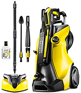 karcher k7 premium full control home pressure washer yellow black diy tools. Black Bedroom Furniture Sets. Home Design Ideas