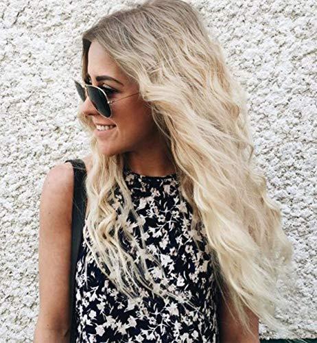- Natürliche Blonde Perücke