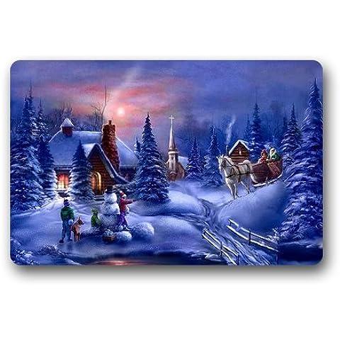 Tema natalizio, Winter Snow Tree House-Zerbino a