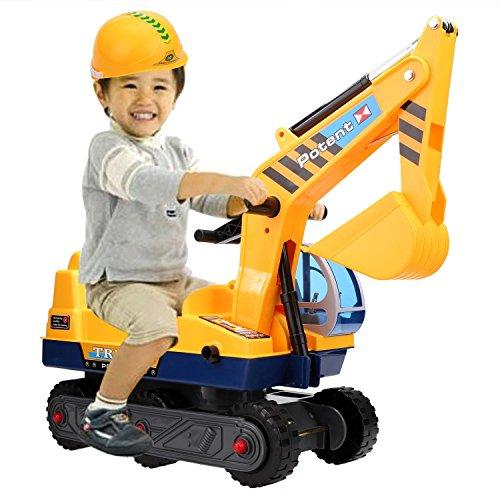 aceshin Juguete de Coche Excavadora Camión Grande Juguete para Niños