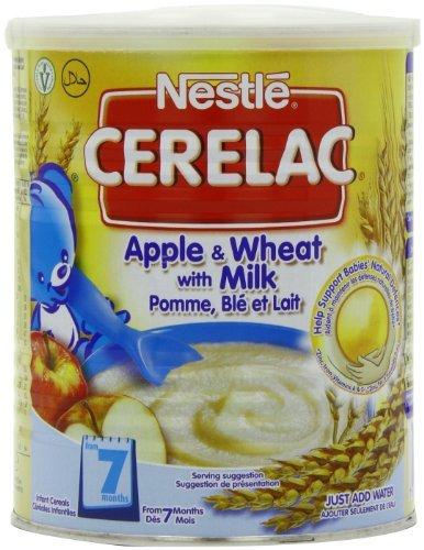 nestle-cerelac-manzano-de-rejilla-con-leche-400-gramos-lata-manada-of-4