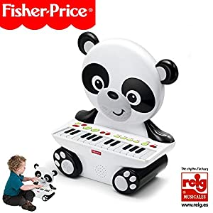 Fisher-Price Piano Panda, Juguete Musical +2 años (Reig KFP2522), Color Blanco (Kids Station Toys