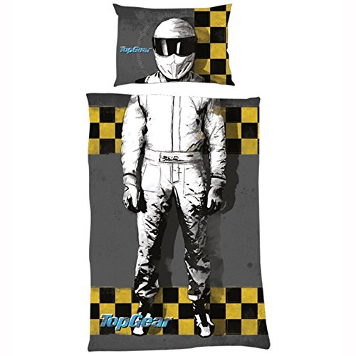 Preisvergleich Produktbild Top Gear 33.2 x 25.2 x 3.6 cm Einzelbett Bettdecke, Grau