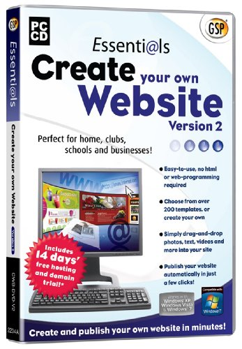 Essentials Create Your Own Website V2 (PC CD)
