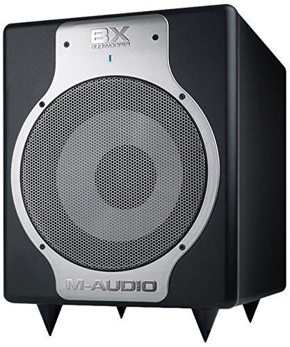 M-Audio BX Subwoofer (Hochwertiger 10 Zoll Studio-Aktiv Subwoofer für kompromisslose Bassperformance)
