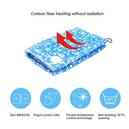Zaote Elektrische Heizung Knieschützer Multifunktionale Fern Infrarot Wärmebehandlung Physiotherapie Heizdecke Wärmende Matratzenauflage Blau Low Voltage