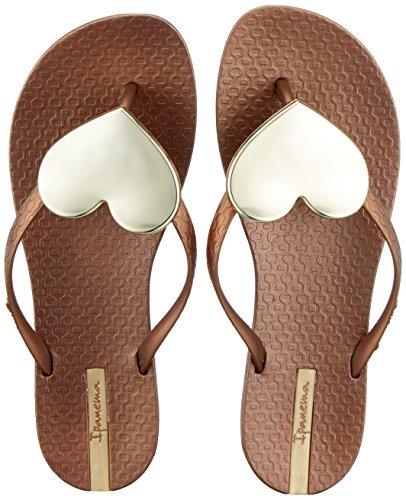 Ipanema Damen Maxi Fashion II FEM Zehentrenner, Mehrfarbig (Bronze/Gold), 39 EU