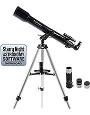 Celestron Powerseeker 70Az 21036 Telescope (Black)