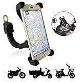 Soporte de Movil para Moto Universal Ultra Estable de TTMOW con Ultra Estable 4 Esquinas Cerradas...