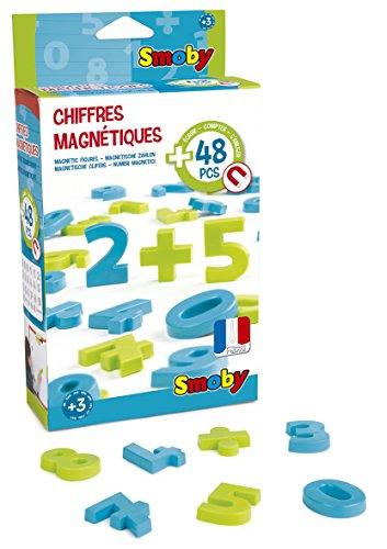 Smoby- activity 48 numeri magnetici, colore, 430101