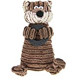 Pet Chew Toy, dientes de limpieza masticar juguete para perros gatos Cachorros Gatitos peluche Squeaky Toy Squeaker Toy de adiestramiento para perro durable masticación Juguete