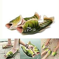 Hoyou Stylish Animal Fish Stylish Hawaii Fish Flip Flops for Summer Print Handmade Animal Sandals for Women Men Kids Shark Slippers