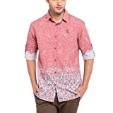Copperstone Men's Casual Printed Shirt (...