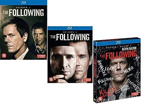 The Following - Intégrale - Saison 1 + 2 + 3 [Blu-ray]