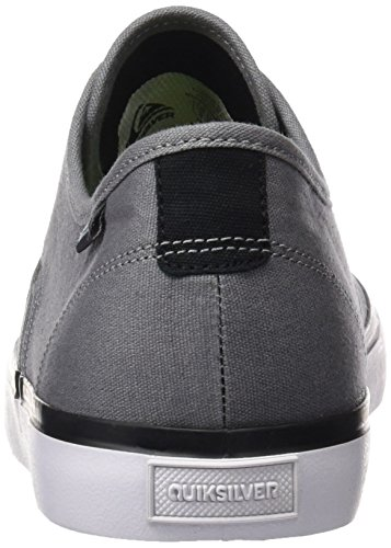 Quiksilver Aqys300027, Baskets Basses Homme Grey (grey/black/white)