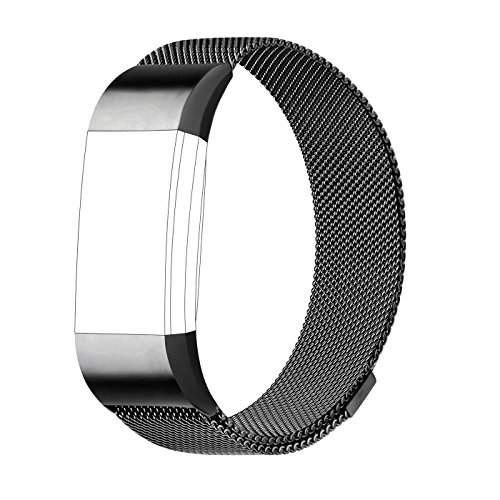 preisvergleich armband f r fitbit charge 2 milanese. Black Bedroom Furniture Sets. Home Design Ideas