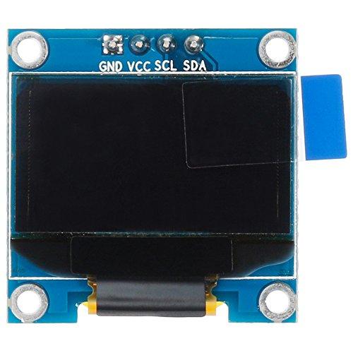 Anpro 0,96 Zoll OLED Display (2.6 * 2.6 cm) 128 x 64 IIC OLED Modul für Arduino und Raspberry Pi 3...