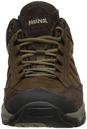 Meindl Nebraska Lady (XL), Chaussures de Randonnée Basses Femme Marron (Dunkelbraun 46)