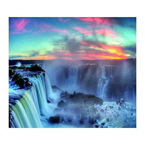 Hängenden Wasserfall (Wandteppiche tapestries Jamicy® 130*150cm Strand Wasserfall hängenden Wandteppich böhmischen Hippie Tagesdecke Home Decor Wohnzimmer Schlafzimmer Decke (G))
