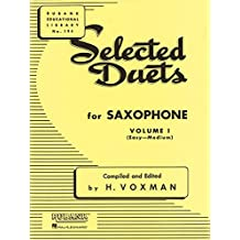 Selected Duets for Saxophone, Volume I: (Easy-Medium) (Rubank Educational Library)
