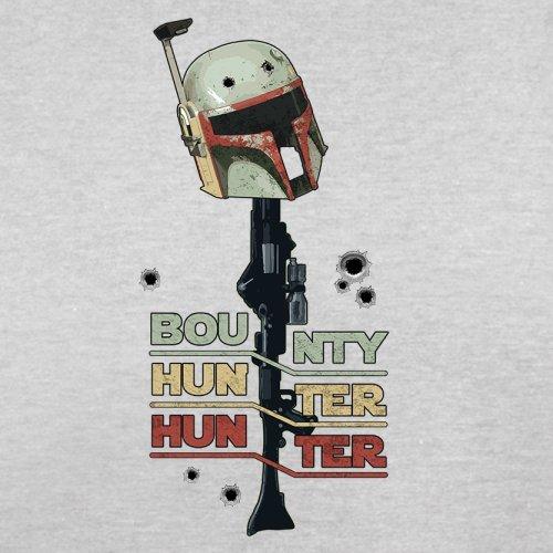 Bounty Hunter Hunter - Herren T-Shirt - 13 Farben Hellgrau