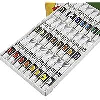 Facile Mix acquerelli Set per adulti e bambini 12ml Tubo atossici colori acrilici per principianti e artista taglia unica 24 Pcs