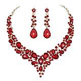 Mumiumius Pendientes de Gota Colgantes de Collar de Diamantes de...
