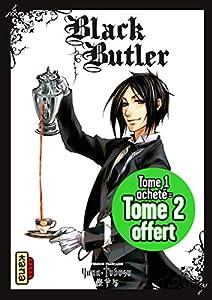Black Butler Pack découverte Tome 1 + 2 gratuit
