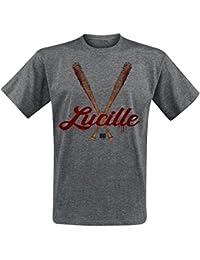 The Walking Dead Lucille Camiseta Gris/Melé