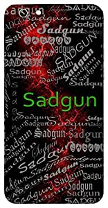 Sadgun (Virtues) Name & Sign Printed All over customize & Personalized!! Protective back cover for your Smart Phone : HTC one M-8 ( M8 )