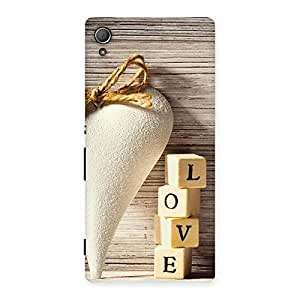 NEO WORLD Remarkable Love Love Back Case Cover for Xperia Z3 Plus
