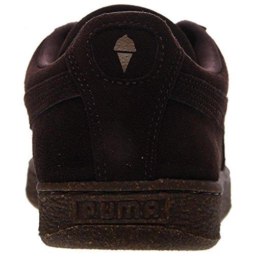Puma Suede IC Daim Baskets Chocolate Brown/Chipmunk
