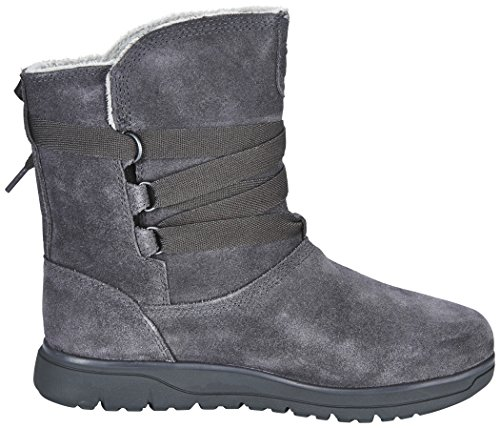 Timber A17n8 Leighland Train On Gray Lady Shoes Stivali Impermeabili Grigi