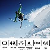 ThiEYE i60e 4K Sports Action Camera Wifi 12MP Full HD 1080P...