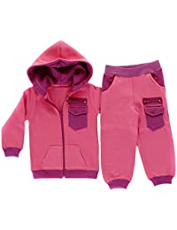 Cargo Pocket Full Zip Hooded Babies Tracksuit