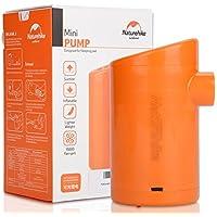 Mini bomba de aire inflador eléctrico USB recargable portátil con 5grifos de Air para colchón inflable bolsas de dormir de vacío Anillo de natación, Recharge Direct